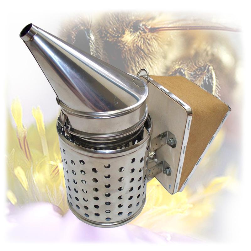 Včelařský nerezový dýmák - malý-1