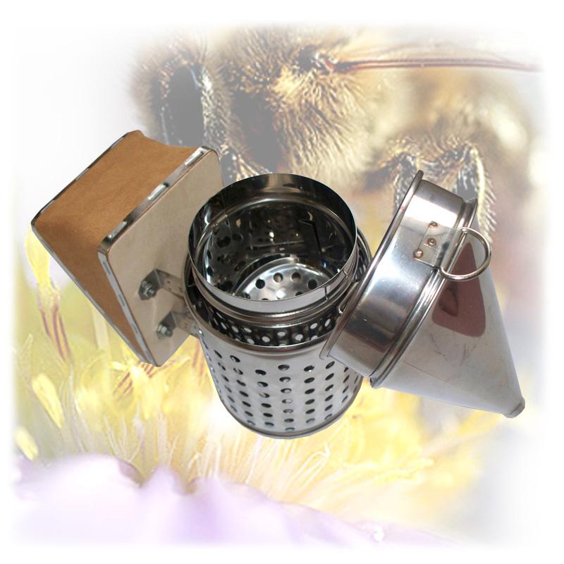 Včelařský nerezový dýmák - malý-3