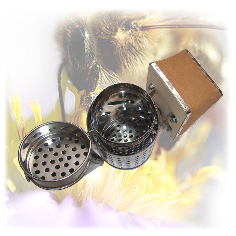 Včelařský nerezový dýmák - malý-2